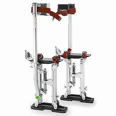 """Aluminum Drywall Painting Wiring Stilts Pro 24"""" - 40"""" Sturdy Stand Professional"""