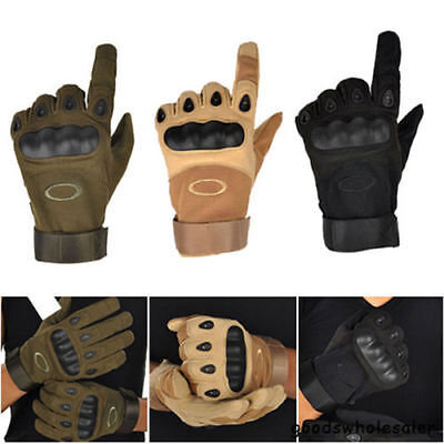 Hot Outdoor Sport Armed Military Tactical Gloves Airsoft Hunting Shooting Driver