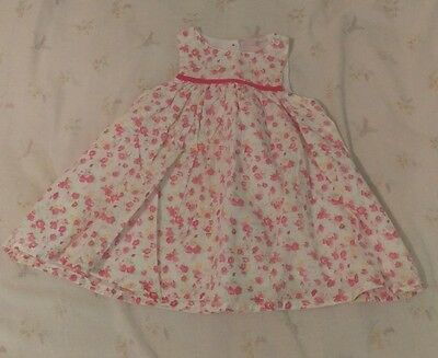 my petit beau floral dress  baby girl 0-3 months