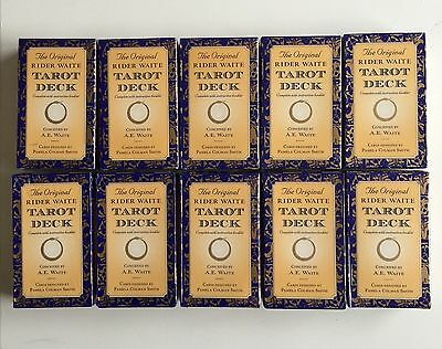 10 PACKETS of THE ORIGINAL RIDER WAITE TAROT CARDS  ****NEW & SEALED*****