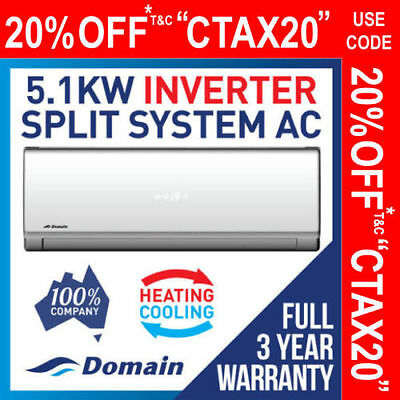 Carrier Aspire 2.5Kw Inverter Reverse Cycle Split System Air Conditioner