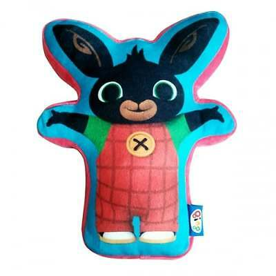 Bing Bunny Shaped Cushion - OFFICIAL Kids Merchandise Pillow - NEW GIFTS