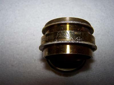 Camera lens antique brass part Swift & Son London paragon - Late 1800 early 1900