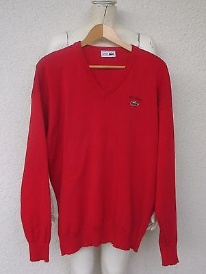 """""""LACOSTE"""" Pull Coton Rouge Taille 5"""