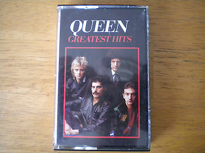 Queen-Greatest Hits / Rare Cassette Tape 1981 Freddie Mercury