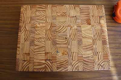 Butchers Block / End Grain Cutting Board Hand Made 30x40x4 cm  Free Engraving