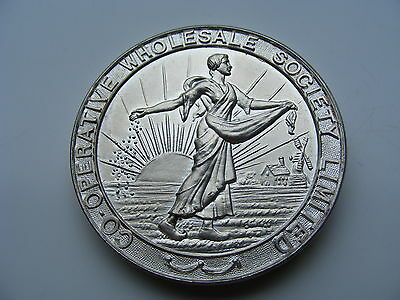 Co-op Bread & Confectionery Competition HM Silver 87g  Medal 1934 J A Clayton