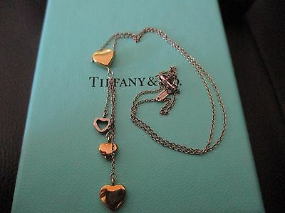 100% Genuine Tiffany & Co T&Co necklace - yellow and white gold