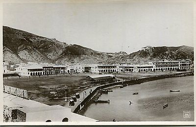 1920s postcard Military Installations ADEN Africa