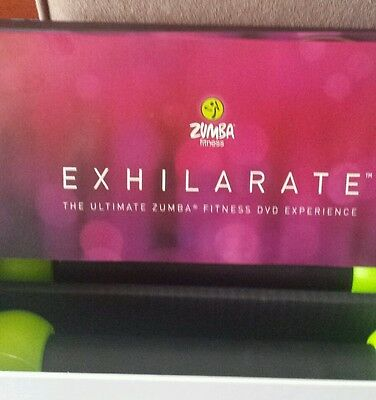 Zumba fitness exhilirate fitness dvds