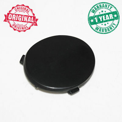 Black Tow Hook Cover Eye Cap Rear Bumper For Ford Focus C-MAX