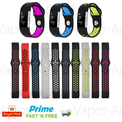 Replacement Silicone Watch Band Sports Strap For Fitbit Charge 2 Bracelet