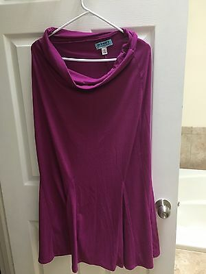 old navy maxi maternity skirt size small pink