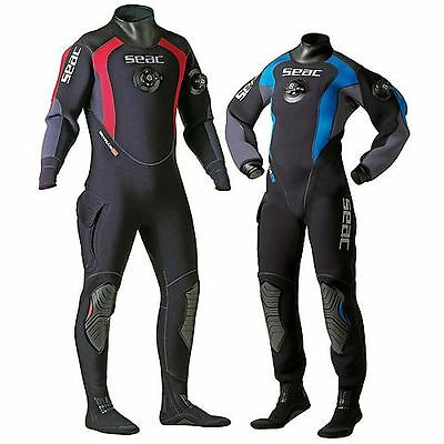 Seac Dry Plus HD Neoprene Drysuit - Ladies XS Brand new