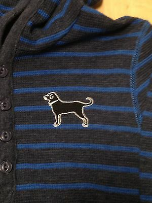 New With Tags! The Black Dog Gray And Blue Long Sleeve Shirt Youth M