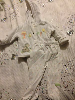 Baby Girls George Pyjamas Set , Outfit, Jacket&bottom  6-9 Months