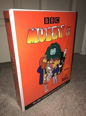 MUZZY Level II BBC Spanish Language Course for Children DVD & CD Set - NEW