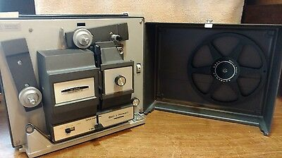 Bell & Howell 456A Dual 8mm Reg 8mm / Super 8mm  Movie Projector Tested