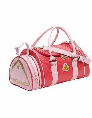 Head Heritage Collection Retro St Tropez Sports Travel Holdall Bag - Raspberry