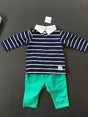 Target Baby 2 Piece Top And Pant Set Size 3-6 Months NWT