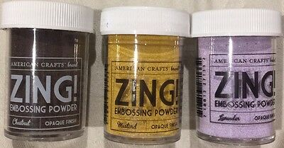 Embossing Powder Bundle
