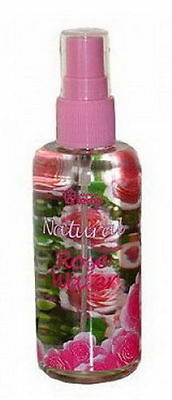 PURE Natural Bulgarian ROSE WATER Spray Cleanser Moisturizer Toner 100ml Lema