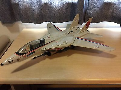 Vintage Gi Joe Skystriker Jet With Ace Pilot
