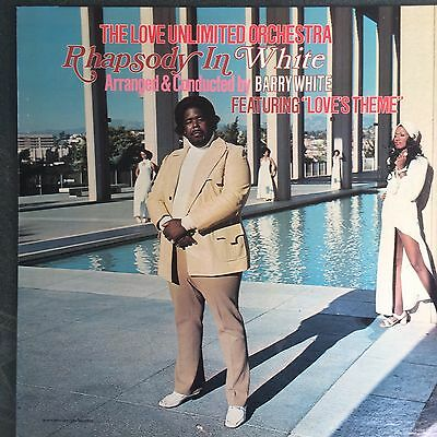 The Love Unlimited Orchestra  Barry White Rhapsody In White. 1973 Us Vinyl Lp