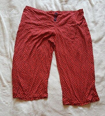 m&s womens pj trousers size 20 3/4 length