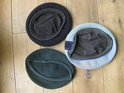 3 WW2 Military Beret / Caps ? Relic