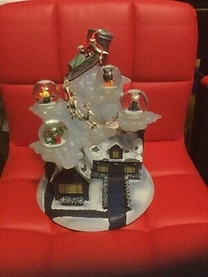 Disney Auctions Nightmare Before Christmas Snowglobe Jack Sleigh 2004 Le 350 500