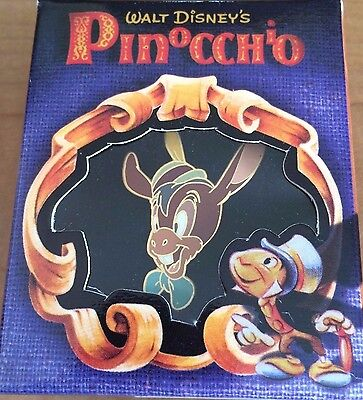 Disney Gallery Pinocchio Lampwick Boxed LE Pin NEW