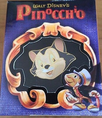 Disney Gallery Pinocchio Figaro Boxed LE Pin NEW