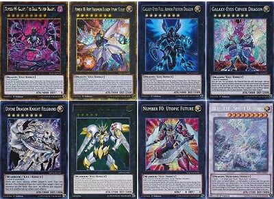 55 Cards Galaxy-Eyes Deck| 2017 OTK* Blue-Eyes/ Utopia the Lightning Deck Yugioh