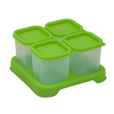 Fresh Baby Food Unbreakable Cubes (4oz/4pk)-Green-Adult use only