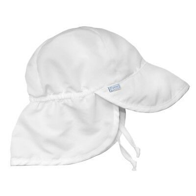 Flap Sun Protection Hat-White