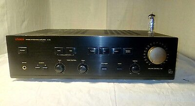 Luxman A-312 Stereo audiophile amplifier with high quality phono stage
