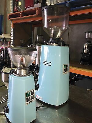 Mazzer Robur and matching Mazzer Mini coffee grinder