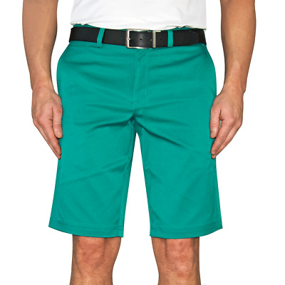 New Nike Golf Flat Front Golf Shorts - Rio Teal