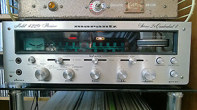 Ampli-Tuner Stéréo/Quadriphonique MARANTZ Model 4220 Receiver AM FM HIFI VINTAGE