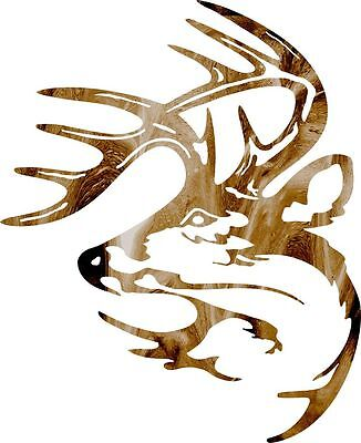 DXF CNC dxf for Plasma Router Clip Art Vector Deer Mount #300  Wall Man Cave