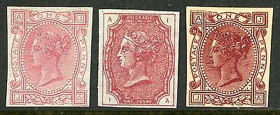 "Lovely 1879 ""Tender Essay"" by Mc Corquodale, three examples different colours"