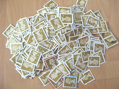 540 x 1st First Class Gold Security Stamps - All On Paper - USED