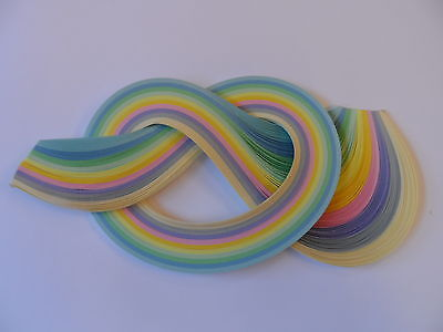 Quilling Paper 10mm  -  Pastel shades