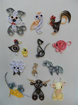Quilling Kit - On The Farm