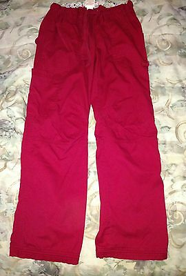 KOI KATHY Petersen RED MEDIUM TALL  Womens Medical Scrub CARGO Pants 701