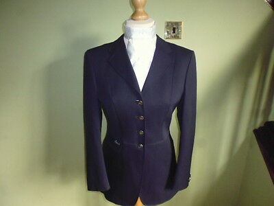Pikeur navy blue wool ladies competition show jacket size 40 or UK 12