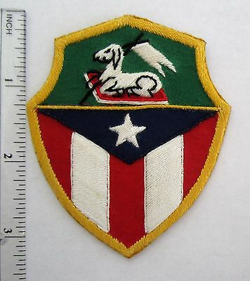 Puerto Rico National Guard Honor guard Patch Hand sewn Custom made for veterans