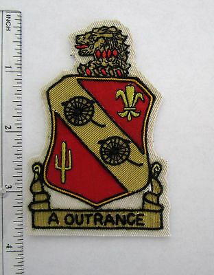 112th Field Artillery New Jersey National Guard Patch Custom made for veterans