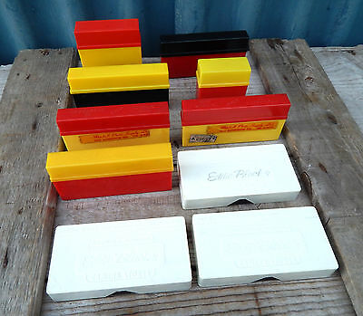 Lot Vintage 50s 60s Photographic 35mm Slide Storage Boxes  Cases - Slides